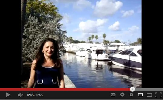 Professor Real Estate Suzanne Hollander Discusses Value of Boat Slips - Boat Slips Sell Miami