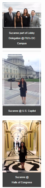 Suzanne Hollander Visits Washington and Capitol Hill