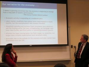 Suzanne Hollander & Federal Reserve Economist Chat Interest Rates, Real Estate, Employment