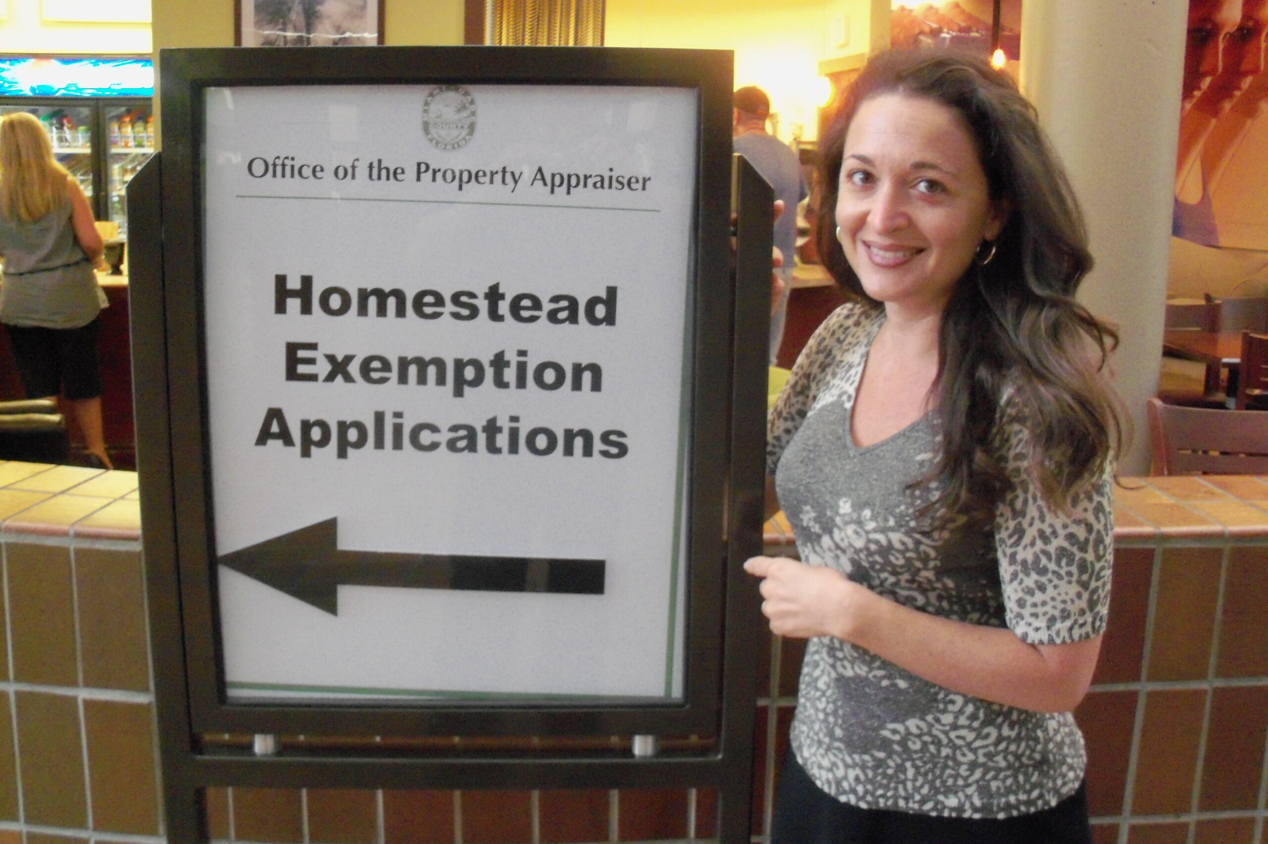 Apply for the Homestead Exemption Suzanne Hollander Professor Real Estate