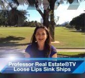 Suzanne Hollander Loose Lips Sink Ships - Brag After You Buy Property Professor Real Estate