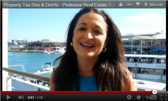 Property Tax Dos and Don'ts Discussed by Professor Real Estate Suzanne Hollander