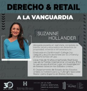 Suzanne Hollander Attorney Expert Panelist : Retail Real Estate in Latin America and United States