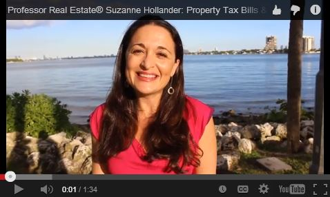 Suzanne Hollander Reminds You to Save on Florida Property Tax Professor Real Estate