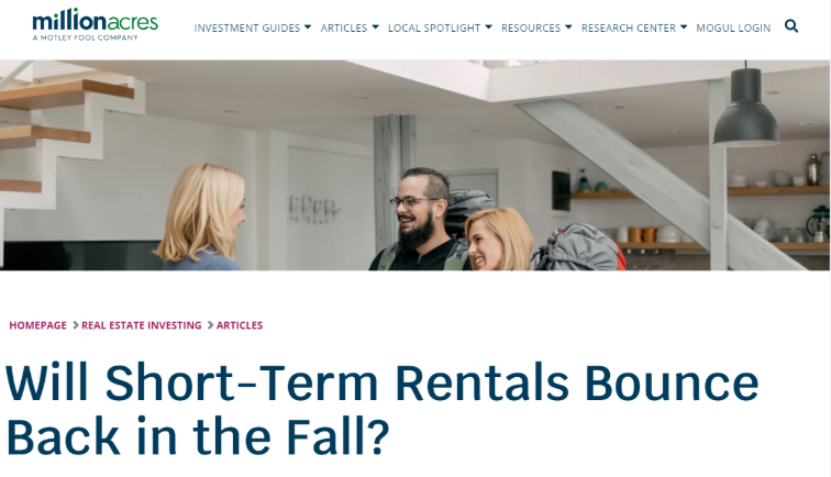 Suzanne Hollander on AirBNB Short Term Rental Trend in U.S. and Latin America