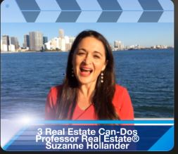 Suzanne Hollander 3 Real Estate Can - Dos - Real Estate Actions to Make Smarter Decisions Professor Real Estate