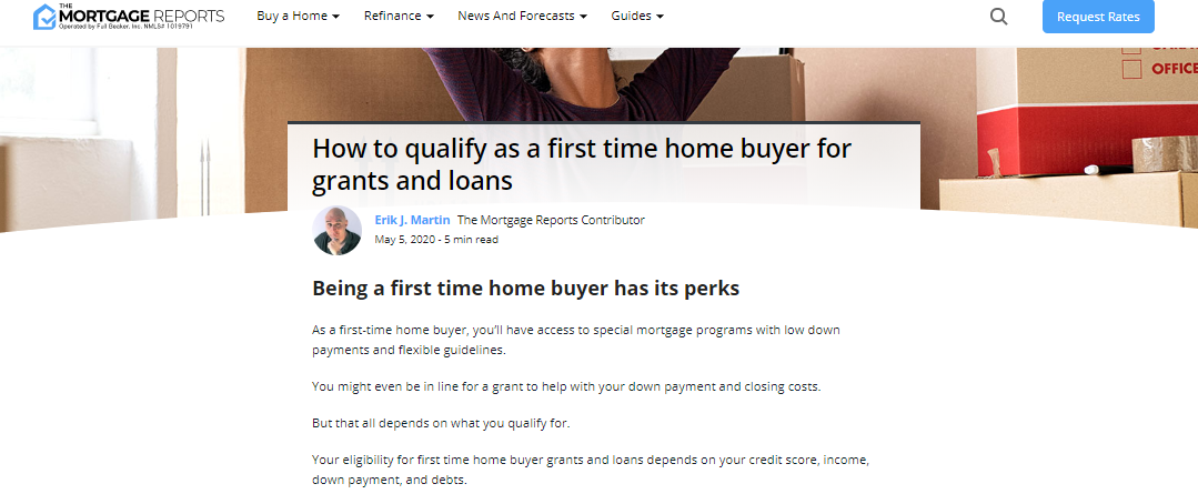 In News! Not WTF, WFH (Work From Home) Increases Demand For Single Family Homes - Read Suzanne's National Tips to Get Financing For 1st Time Home Buyers