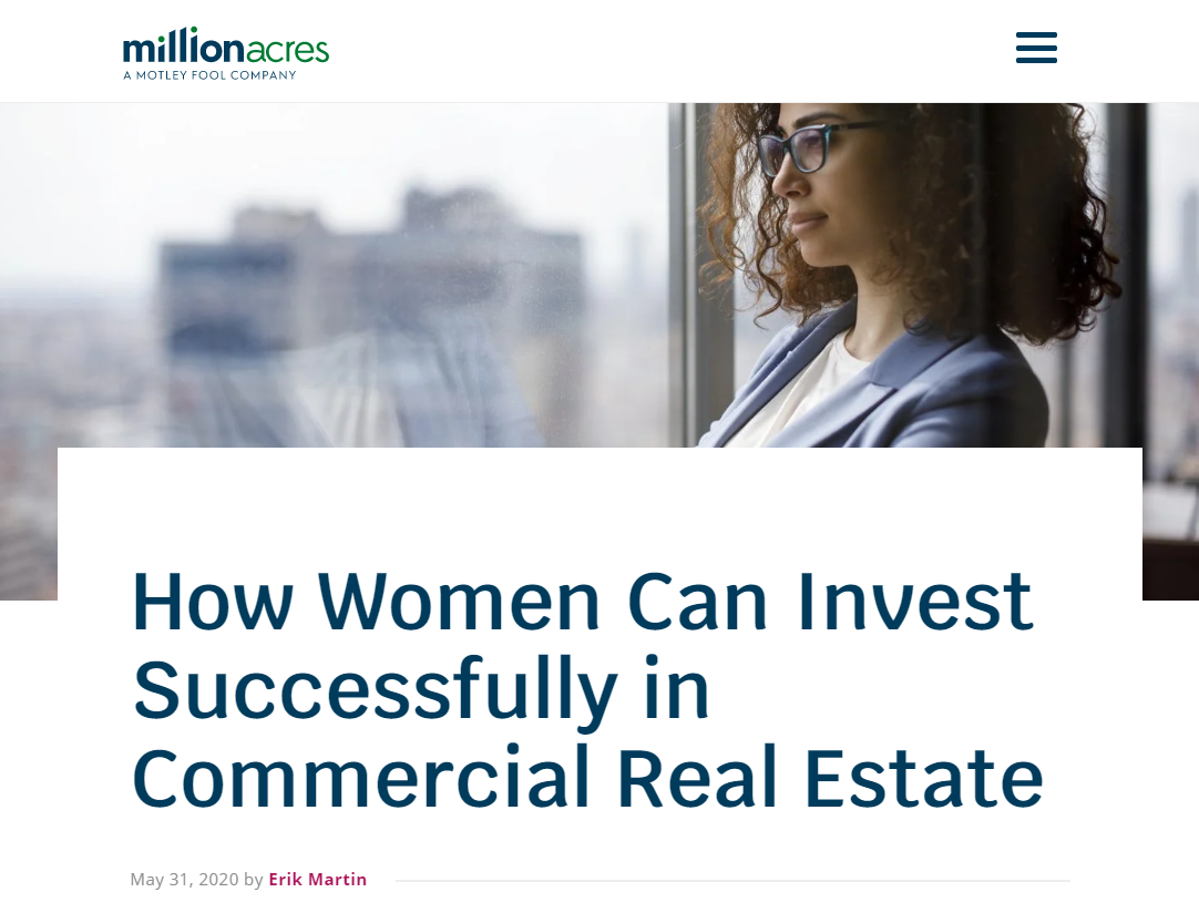How Women Can Invest Successfully in Commercial Real Estate