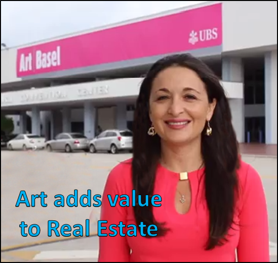 Suzanne Hollander on Site Art Basel Miami - Art Adds Value to Real Estate and Cities - Professor Real Estate