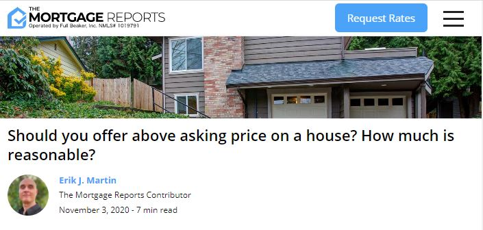 Professor Real Estate Suzanne Hollander Comments on How Much Over Asking Price to Offer on Property - Answer Depends on Asset Class - Property Type